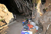 Israel, Carmel Mountain, Rakefet cave. A large colony of bats live in this cave. Recent excavation have unearthed prehistoric remains spaning thousands of years