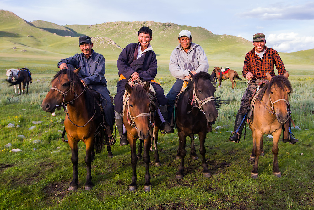 horses, central Mongolia