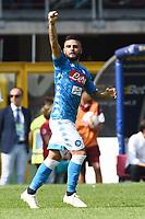 esultanza gol Lorenzo Insigne Goal Celebration <br /> Torino 23-09-2018 Stadio Olimpico Grande Torino Football Calcio Serie A 2018/2019 Torino - Napoli Foto Image Sport / Insidefoto