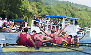 Henley-on-Thames. United Kingdom.  2017 Henley Royal Regatta, Henley Reach, River Thames. <br /> Oxford Brookes University and Taurus BC. wing the Ladies Challenge Plate. celebrate winning the Temple Challenge Cup.<br /> <br /> 13:03:27  Sunday  02/07/2017<br /> <br /> [Mandatory Credit. Intersport Images}.