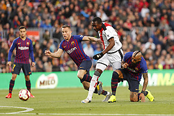March 9, 2019 - Barcelona, Catalonia, Spain - FC Barcelona midfielder Arthur (8) during the match FC Barcelona v Rayo Vallecano, for the round 27 of La Liga played at Camp Nou  on 9th March 2019 in Barcelona, Spain. (Credit Image: © Mikel Trigueros/NurPhoto via ZUMA Press)