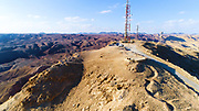 Yoash Mountain (AKA Har Zefahot) observation point in the Eilat Mountains, Israel
