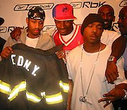 Allen Iverson, Tyson Beckford, Jah Rule.Launch Of Allen Iverson Reebok Shoes.Eye Beam Loft.FridayJanuary 18, 2002.New York, NY.Photo By CelebrityVibe.com..