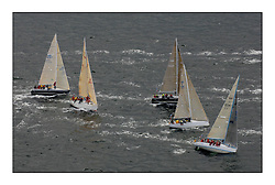 Day 2 of the Bell Lawrie Scottish Series with wild conditions on Loch Fyne for all fleets. Exhilarating and testing racing for Boats and crew...Class 3 GBR3742 Hops with  GBR2912R No Retreat and GBR8569T Delinquent.