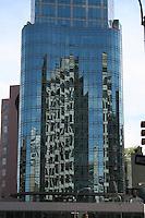 Skyscraper buildings, New York city, USA