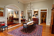 The living room of 14 E. Beverley Street Staunton, Virginia photographed for the New York Times. Photo/Andrew Shurtleff