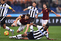 Edin Dzeko roma, Molla Wague Udinese <br /> Roma 28-10-2015 Stadio Olimpico Football Calcio Serie A 2015/2016 AS Roma - Udinese Foto Andrea Staccioli / Insidefoto