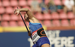 July 10, 2018 - Tampere, Suomi Finland - 180710 Friidrott, Junior-VM, Dag 1: Maura Fiamoncini USA  competes in Javelin Throw during the IAAF World U20 Championships day 1 at the Ratina stadion 10. July 2018 in Tampere, Finland. (Newspix24/Kalle Parkkinen) (Credit Image: © Kalle Parkkinen/Bildbyran via ZUMA Press)