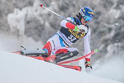 Marc Rochat (SUI) during 1st run of Men's Slalom race of FIS Alpine Ski World Cup 57th Vitranc Cup 2018, on March 4, 2018 in Kranjska Gora, Slovenia. Photo by Ziga Zupan / Sportida