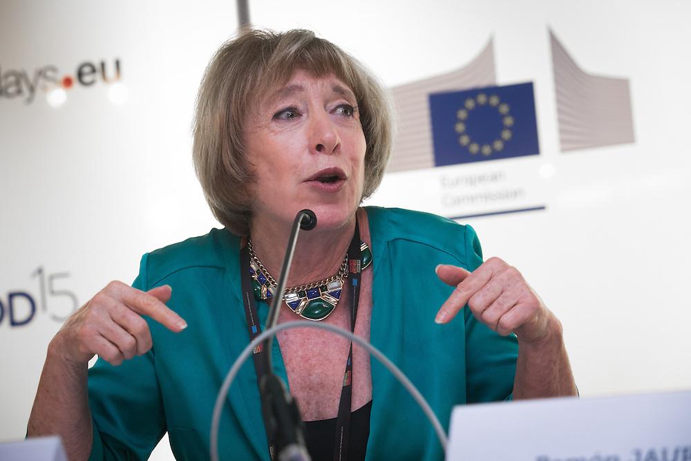 03 June 2015 - Belgium - Brussels - European Development Days - EDD - Inclusion - Euro-Latin American policy dialogue for social cohesion - Clarisa Hardy , Director, Fundacion Dialoga, Chile © European Union