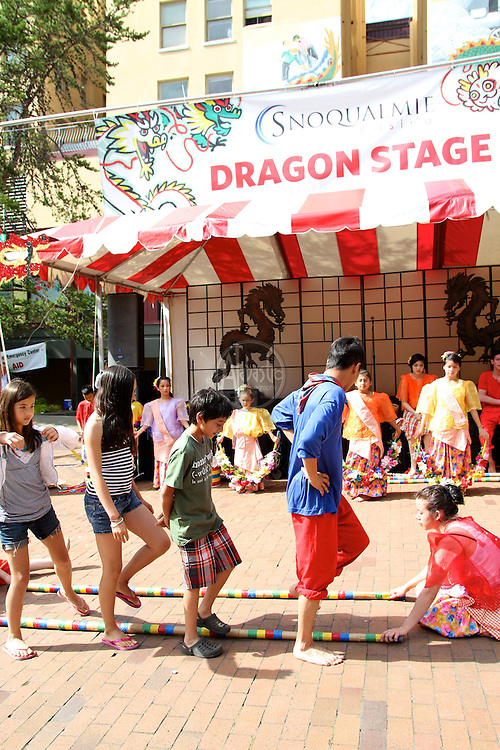 2011 Seattle Chinatown International District Dragon Fest. Snoqualmie Casino's Dragon Stage: PAYO