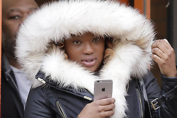 © Licensed to London News Pictures. 08/11/2016. London, UK. Shanique Pearson is seen at Hammersmith Magistrates' Court. Ms Pearson is charged with various motoring offences after she was filmed confronting BBC broadcaster Jeremy Vine who was cycling in front of her car in August this year in Kensington.  Photo credit: Peter Macdiarmid/LNP