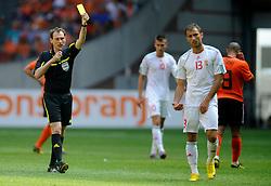 05-06-2010 VOETBAL: NEDERLAND - HONGARIJE: AMSTERDAM<br /> Nederland wint met 6-1 van Hongarije / Fabian Meyer<br /> ©2010-WWW.FOTOHOOGENDOORN.NL