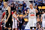 DESCRIZIONE : Bologna Serie B Playoff Girone B Finale Gara 1 2014-15 Eternedile Bologna Contadi Castaldi Montichiari<br /> GIOCATORE : Andrea Iannilli<br /> CATEGORIA : esultanza<br /> SQUADRA : Eternedile Bologna<br /> EVENTO : Campionato Serie B 2014-15<br /> GARA : Eternedile Bologna Contadi Castaldi Montichiari<br /> DATA : 28/05/2015<br /> SPORT : Pallacanestro <br /> AUTORE : Agenzia Ciamillo-Castoria/M.Marchi<br /> Galleria : Serie B 2014-2015 <br /> Fotonotizia : Bologna Serie B Playoff Girone B Finale Gara 1 2014-15 Eternedile Bologna Contadi Castaldi Montichiari