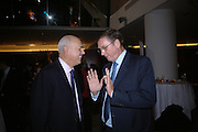 Iain Duncan Smith and Lord Ashcroft. 'Dirty politics, Dirty times: My fight with Wapping and New Labour' by Michael Ashcroft. Book launch party in aid of Crimestoppers. Riverbank Plaza Hotel. London SE1.      October 10 2005. ONE TIME USE ONLY - DO NOT ARCHIVE © Copyright Photograph by Dafydd Jones 66 Stockwell Park Rd. London SW9 0DA Tel 020 7733 0108 www.dafjones.com