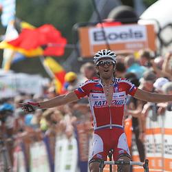 Sportfoto archief 2013<br /> Waalse Pijl, Fleche Wallone Daniele Moreni wins Fleche Wallone