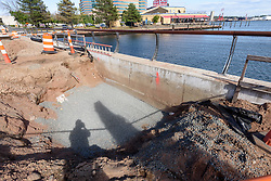 Boathouse at Canal Dock Phase II | State Project #92-570/92-674 Construction Progress Photo Documentation No. 15 on 22 September 2017. Image No. 31