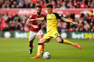 Burton Albion defender Tom Flanagan (12) during the EFL Sky Bet Championship match between Nottingham Forest and Burton Albion at the City Ground, Nottingham, England on 21 October 2017. Photo by Jon Hobley.