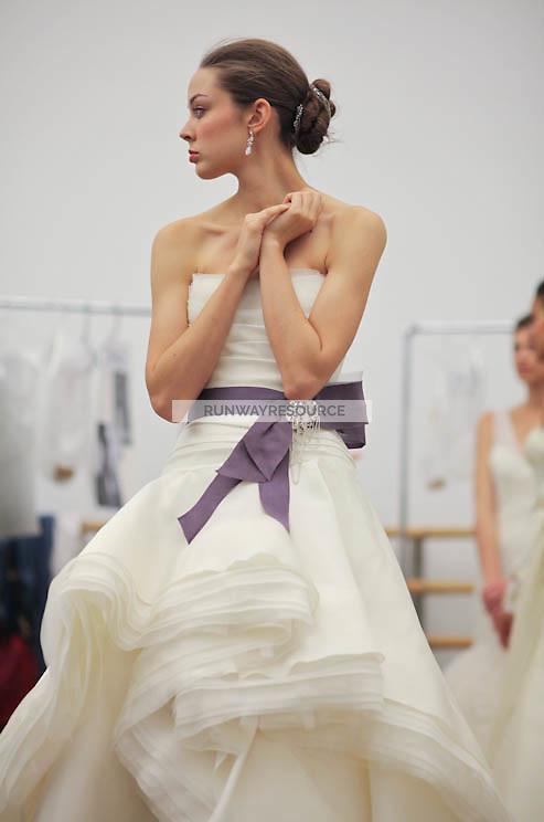 Rivini backstage during New York Bridal Spring 2012