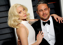 Lady Gaga, Taylor Kinney arrives at the 2016 Vanity Fair Oscar Party Hosted By Graydon Carter at Wallis Annenberg Center for the Performing Arts on February 28, 2016 in Beverly Hills, California. EXPA Pictures © 2016, PhotoCredit: EXPA/ Photoshot/ Dennis Van Tine<br /><br />*****ATTENTION - for AUT, SLO, CRO, SRB, BIH, MAZ only*****