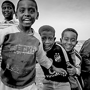 Young local boys playing, Egypt (January 2008)