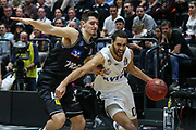 Basketball: 1. Bundesliga, Hamburg Towers - Hakro Merlins Crailsheim 91:92, Hamburg, 29.02.2020<br /> Guitierrez  Jorge (Towers)<br /> © Torsten Helmke