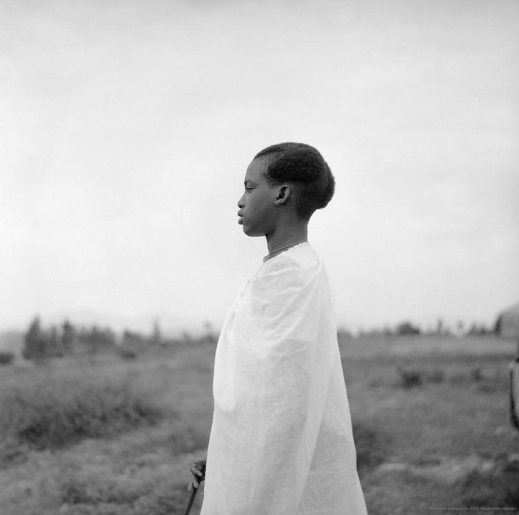 Watussi Woman, Nyanza, Ruanda-Urundi (now Rwanda and Burundi), Africa, 1937