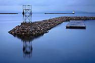 A Calm Morning Along The Burlington Vermont Waterfront