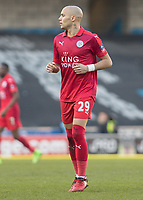 Football - 2016 / 2017 FA Cup - Fifth Round: Millwall vs. Leicester City <br /> <br /> Yohan Benalouane of Leicester City at The Den<br /> <br /> COLORSPORT/DANIEL BEARHAM