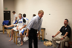 31 May 2010: Duke Blue Devils head coach John Danowski before playing the Notre Dame Irish in the NCAA Lacrosse Championship at M&T Bank Stadium in Baltimore, MD.  The Blue Devils would go on that day to win the national title.