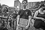 George Floyd Solidarity Rally in New Orleans across from City Hall on May 30., 2020, one of countless protests across the United States.