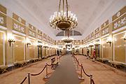 Paleis Noordeinde en Koninklijke Stallen open voor het publiek.  ////  Noordeinde Palace and Royal Stables open to the public.<br /> <br /> Op de foto / On the photo:  Grote Balzaal / Grand Ballroom