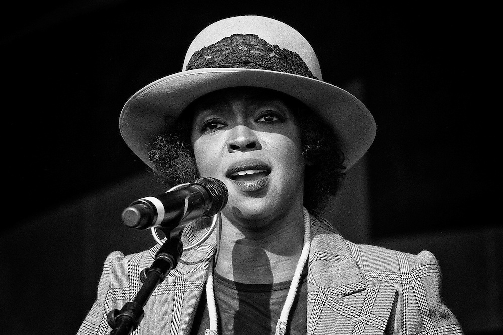 Ms. Lauryn Hill performing on the Congo Square Stage at the 2011 New Orleans Jazz & Heritage Festival at the Fair Grounds Race Course in New Orleans, LA. USA.