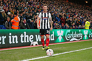 Grimsby Town midfielder Martyn Woolford (16) during The FA Cup 3rd round match between Crystal Palace and Grimsby Town FC at Selhurst Park, London, England on 5 January 2019.