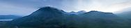 Snowdon Mountain Range, Snowdonia, Wales, UK