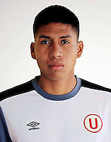 Football - Peruvian League Descentralizado - <br /> Movistar Trophy 2016 - Abertura Tournament / <br /> Club Universitario De Deportes Lima - <br /> Giordano Mendoza