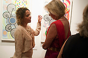 BEATRIZ MILHAZES; HILARY WESTON;, Galen and Hilary Weston host the opening of Beatriz Milhazes Screenprints. Curated by Iwona Blazwick. The Gallery, Windsor, Vero Beach, Florida. Miami Art Basel 2011