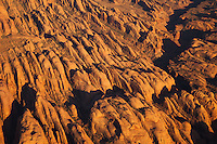 Rock formations just outised of Arches National Park