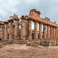 Cyrene Temple of Zeus - Libya
