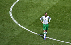 Richard Keogh of Republic of Ireland  - Mandatory by-line: Joe Meredith/JMP - 26/06/2016 - FOOTBALL - Stade de Lyon - Lyon, France - France v Republic of Ireland - UEFA European Championship Round of 16