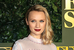 © Licensed to London News Pictures. 13/11/2016. London, UK, Emily Berrington, Evening Standard Theatre Awards, Photo credit: Richard Goldschmidt/LNP