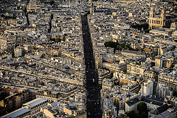 July 21, 2019, Paris, France: A view to Paris from the top of Montparnasse Tower, Paris, France on August 06, 2019  (Credit Image: © Hristo Rusev/NurPhoto via ZUMA Press)