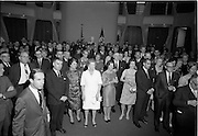 18/09/1967<br /> 09/18/1967<br /> 18 September 1967<br /> Mr Paul A. Fabry, Managing Director, International House, New Orleans, Reception for New Orleans Delegation at the United States Embassy, Dublin. View of attendees at the event.