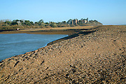 Mouth of the River Deben, Bawdsey, Suffolk, England