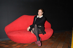CHELSEA LEYLAND at the YSL Beauty: YSL Loves Your Lips party held at The Boiler House,The Old Truman Brewery, Brick Lane,London on 20th January 2015.