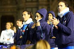 LE AZZURRE INFREDDOLITE<br /> ITALIA - AZERBAIJAN<br /> AMICHEVOLE NAZIONALE ITALIANA VOLLEY FEMMINILE<br /> FIRENZE 09-09-2015<br /> FOTO GALBIATI - RUBIN