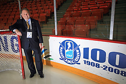 Ernest Aljancic, Council Member of International Ice Hockey Federation at ice-hockey IIHF WC 2008 in Halifax, on May 04, 2008, in Metro Center, Halifax, Nova Scotia, Canada. (Photo by Vid Ponikvar / Sportal Images)