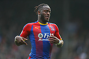 Crystal Palace forward Michy Batshuayi (23) during the Premier League match between Crystal Palace and Huddersfield Town at Selhurst Park, London, England on 30 March 2019.