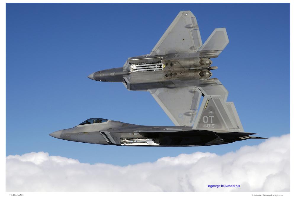F-22A, air-to-air