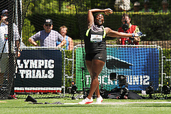 Olympic Trials - Hammer Throw, women Campbell